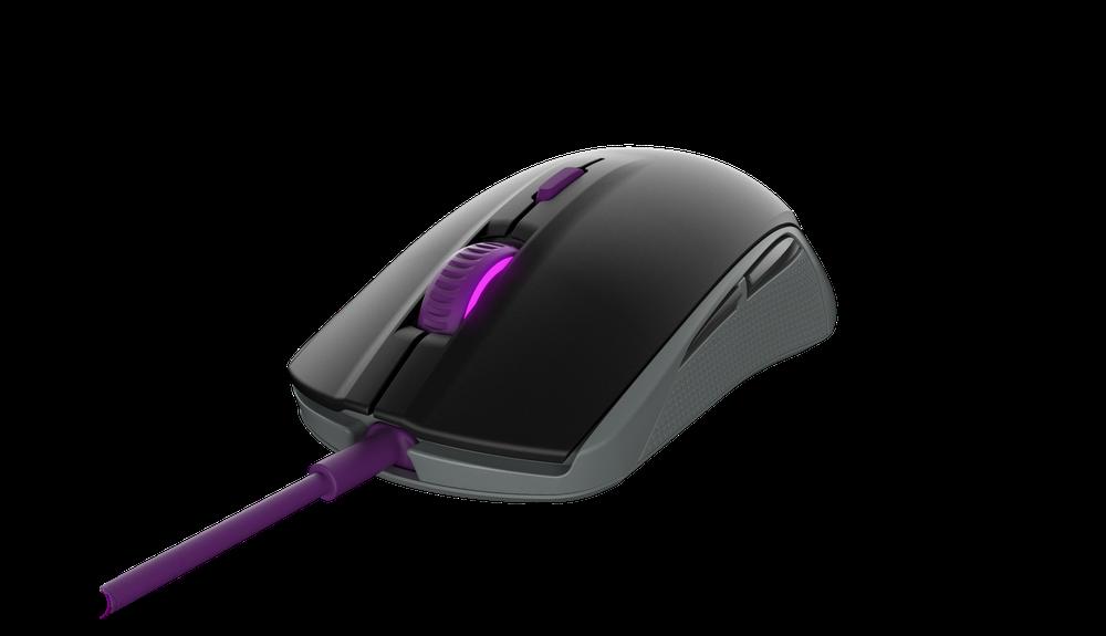 Gaming mouse SteelSeries Rival 100 Sakura Purple