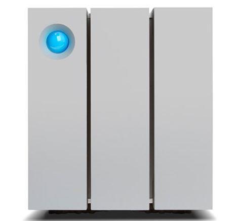 LaCie 2big Thunderbolt2 6TB, 7200RP, 2xThunderbolt, RAID 0,5, JBOD