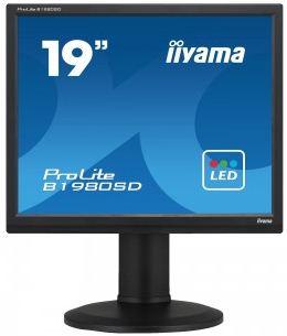Iiyama LCD Prolite B1980SD 19'' LED, 5ms, VGA/DVI, repro, 1280x1024, HAS,pivot,č