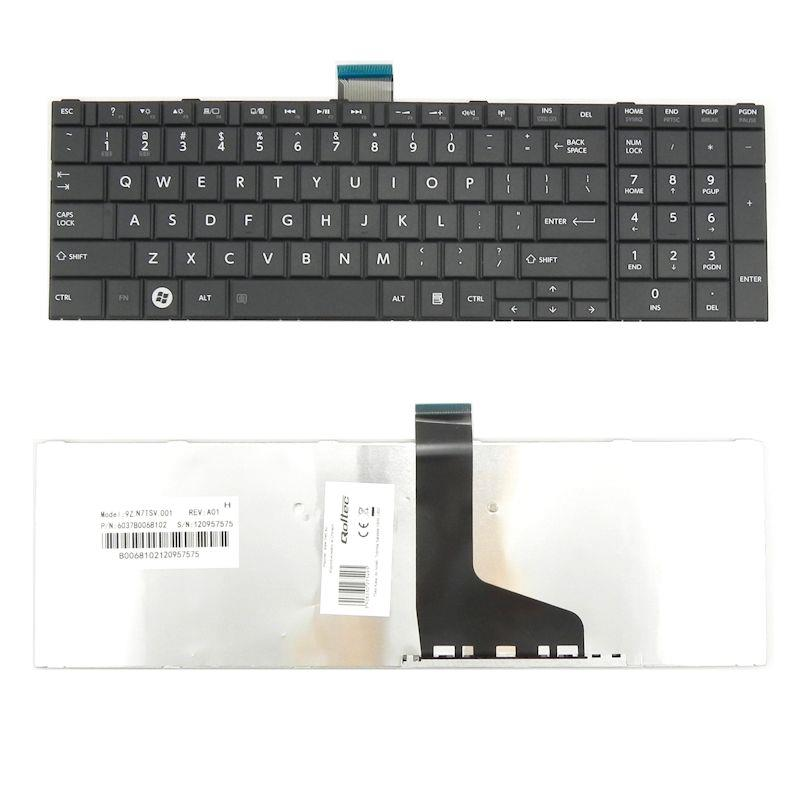 Qoltec Klávesnice pro notebook Toshiba Satellite C850 L850