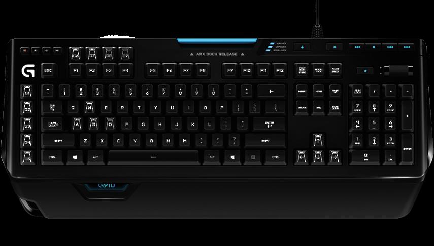 Logitech G910 Orion Spectrum RGB herní klávesnice, US