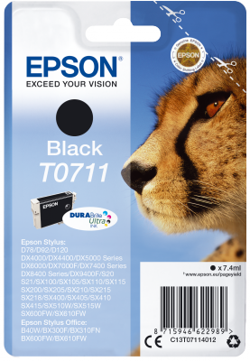 EPSON cartridge T0711 black (gepard)