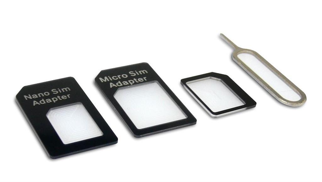 Sandberg adaptér na SIM kartu, kit 4v1
