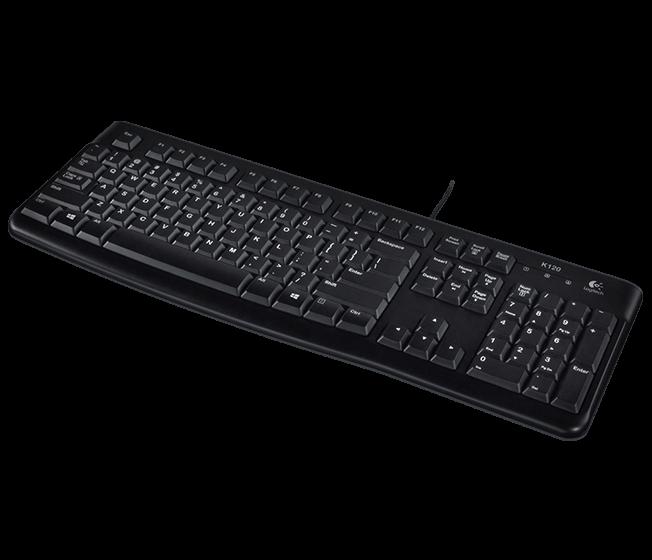 Logitech K120 OEM klávesnice pro Business, RUS (ruský layout)