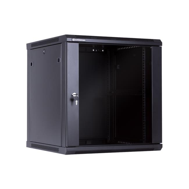 Linkbasic závěsná skříně 19'' 12U 600x600mm - černá