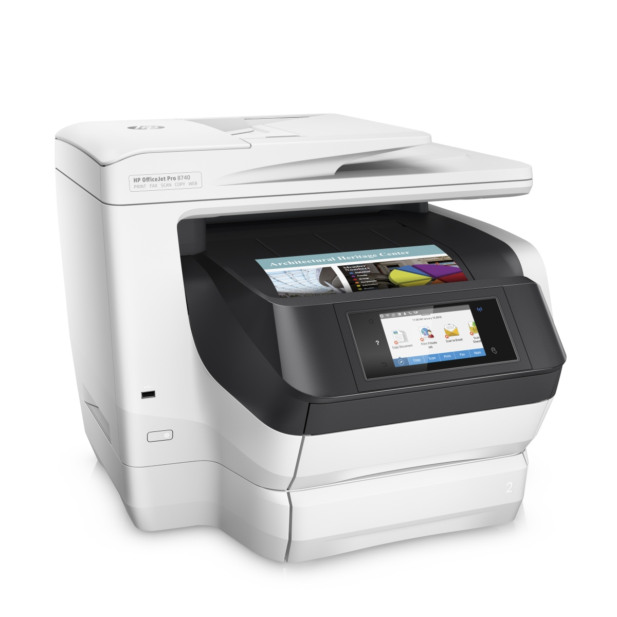 HP OfficeJet Pro 8740 All-in-One