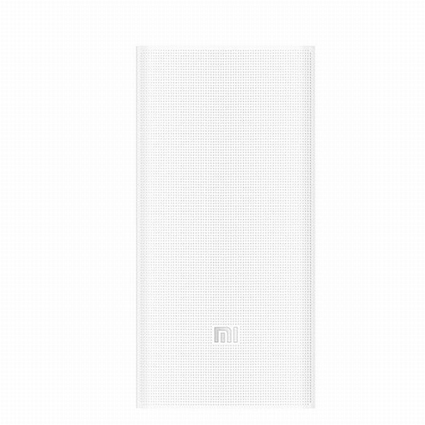 Xiaomi Power Bank Portable 2, 20000 mAh, 2x USB, white