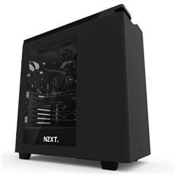 NZXT H440, počítačová skříň, ATX, 2xUSB3.0, černá, průhledná bočnice
