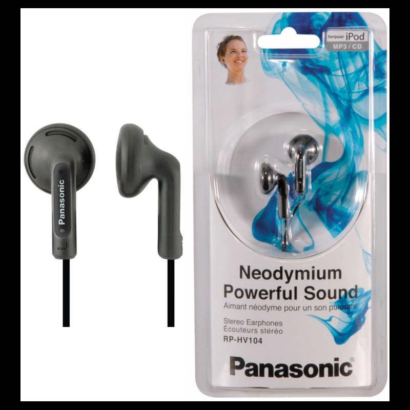 Panasonic RP-HV104E-K, Black