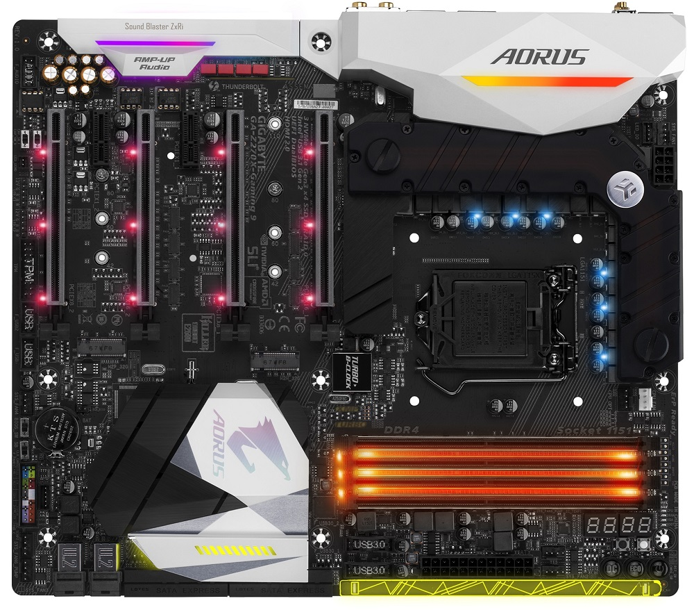 Gigabyte Z270X-Gaming 9, Z270, DDR4, HDMI 2.0,DP
