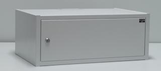 apra-optinet Závěsný rack ecoVARI LC 19'' 4.5U/350mm, jednodílna,plechové dveře