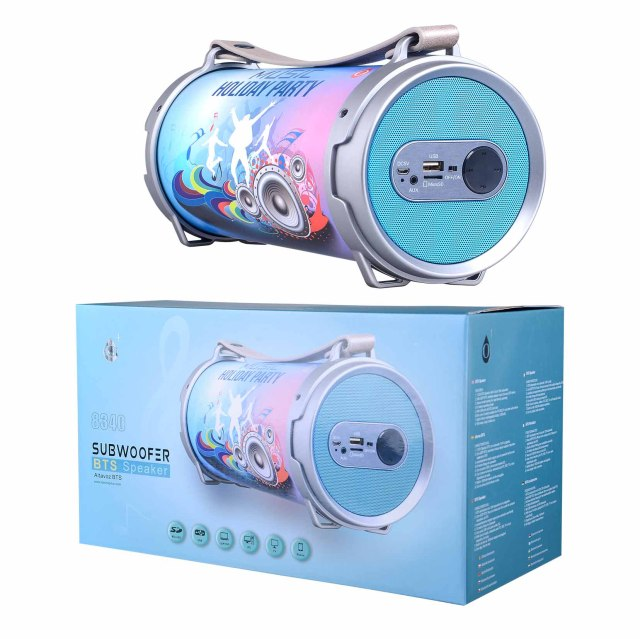 Aligator Bluetooth Portable Speaker Music blue