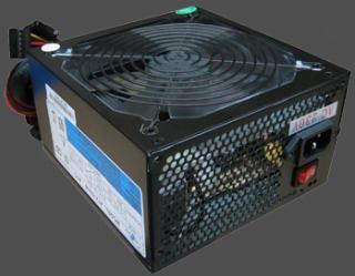 Zdroj Eurocase EC 550W, aktivní PFC, 14cm ventilátor, bulk