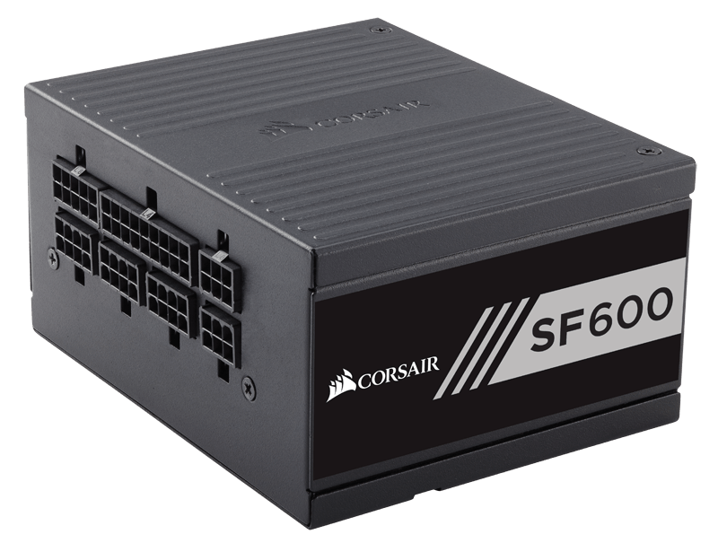 Corsair SF Series SF600-600 Watt 80 PLUS Gold Certified High Performance SFX