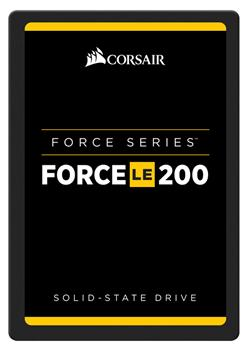 "Corsair Force LE200 Series SSD 120GB SATA III 2.5"" TLC 7mm (čtení/zápis: 550MB/s; 500MB/s; 65/25K IOPS)"