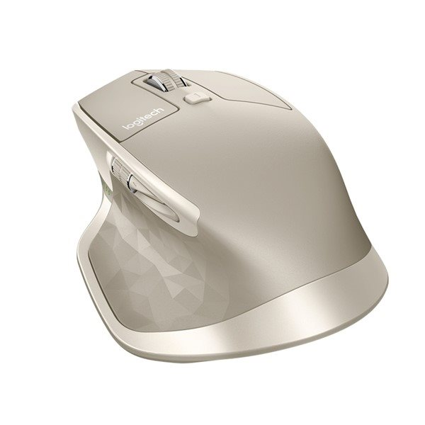 Logitech Počítačová myš bezdrátová MX Master, stone šedá