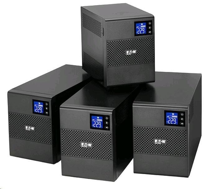 Eaton 5SC 1500i, UPS 1500VA, 8 zásuvek IEC, LCD