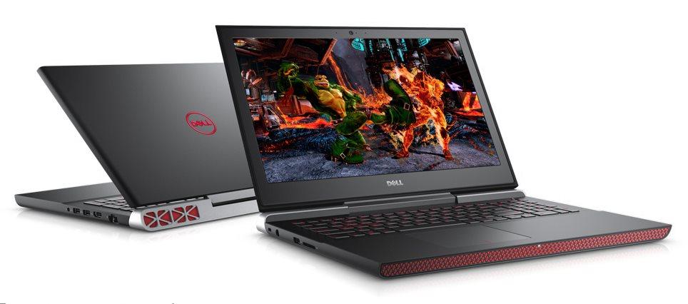 """DELL Inspiron 7566 i5-6300HQ 15.6"""" FHD 8GB 256GB SSD GTX960M(4GB) W/BT Win10P (SK) 3Yr NBD BLACK"""