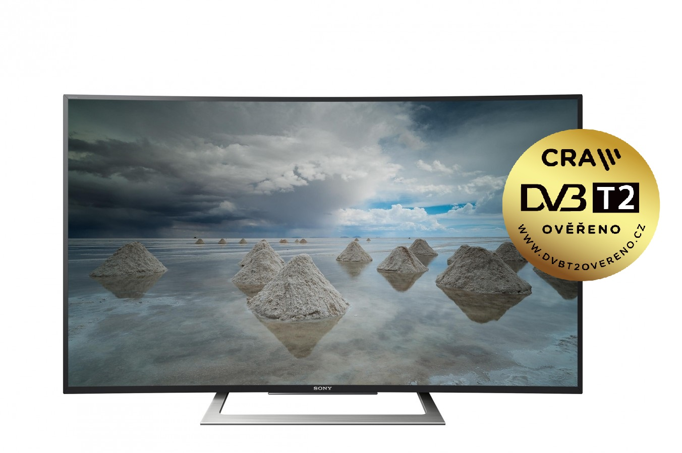 "Sony 50"" 4K HDR TV KD-50SD8005 /DVB-T2CS2/prohnutá"