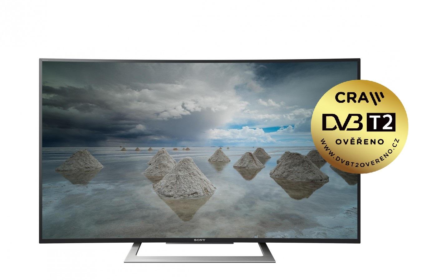 "Sony 50"" 4K HDR TV KD-50SD8005 /DVB-T2CS2/prohnutá"