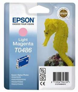 Inkoust Epson T0486 light magenta   Stylus Photo R200/220/300/320/340,RX500/600/