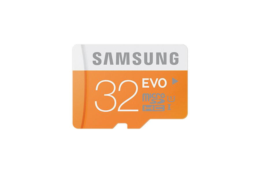 Samsung Micro SDHC karta 32GB Class 10 EVO - bez adaptéru