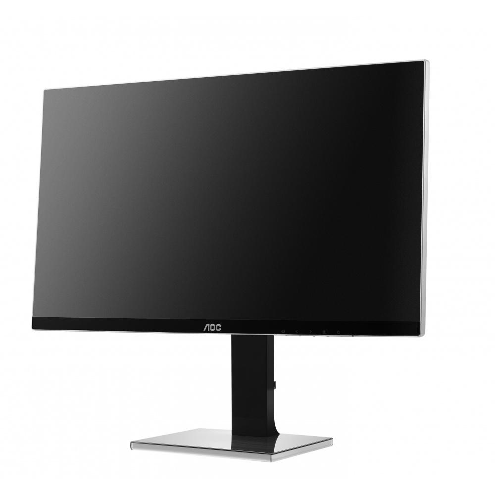 """AOC LCD U2777PQU 27""""wide/3840x2160/4ms/20m:1/VGA/DVI/HDMI/4xUSB/DP/pivot/repro/slim"""