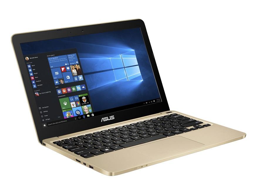 "ASUS E200HA-FD0081TS Atom/4GB/32GB eMMC/HD Graphics/11,6"" 1366x768 LED lesklý/W10/Gold"