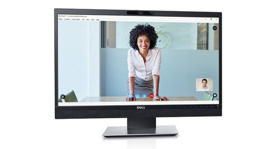 "Dell Professional P2418HZ 24"" WLED/6ms/1000:1/Full HD/Video-conferencing/CAM/Repro/VGA/HDMI/DP/USB/IPS panel/cerny"