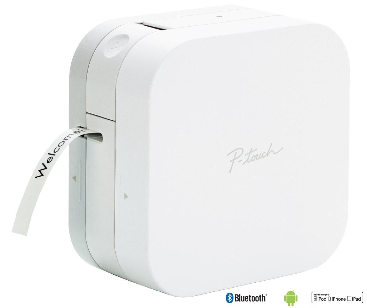Brother PT-P300BT, tiskárna samolepících štítků s Bluetooth rozhraním