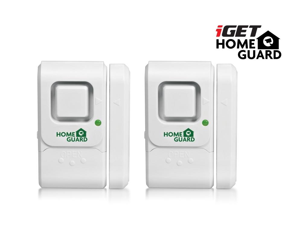 iGET HGWDA512 - dveřní/okenní detektor, set 2ks