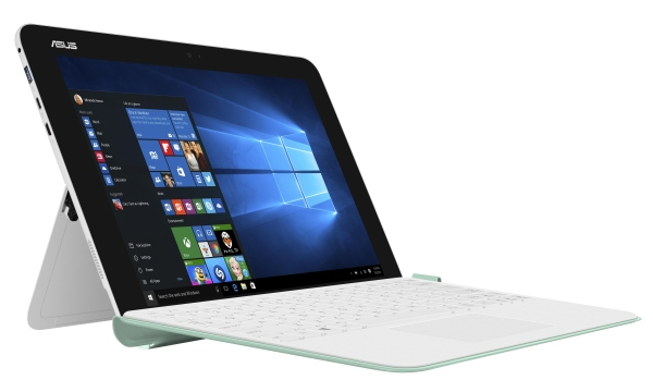 "ASUS T102HA-GR016T Atom/4GB/64G EMMC/HD Graphics/10,1"" 1280x800 IPS Touch lesklý/W10 Home/White/Green bottom"
