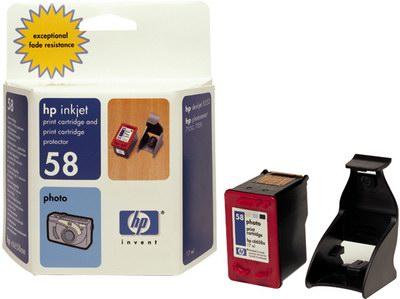 HP C6658AE Ink Cart No.58 pro DJ 3650,5550, PS 7x50, Photo Color