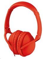 URBAN REVOLT Sluchátka s mikrofonem Duga Headphone - red, červená