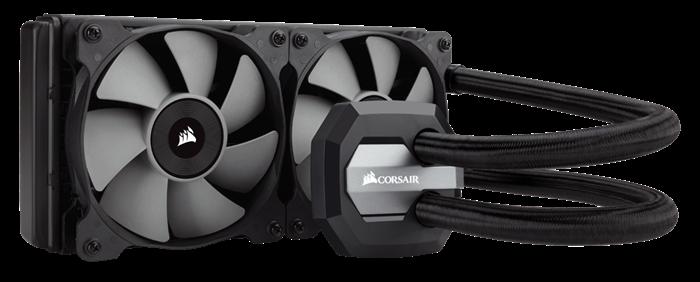 Corsair Hydro Series H100i Extreme Performance CPU Cooler,120mm x120mm x25mm fan