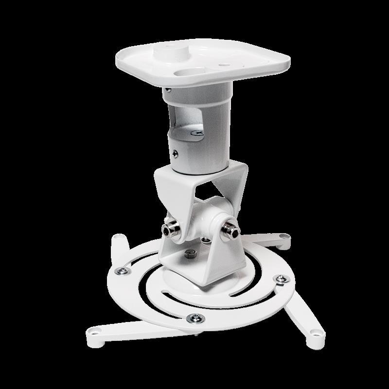 LOGILINK - Montážní sada na projektor, bílá