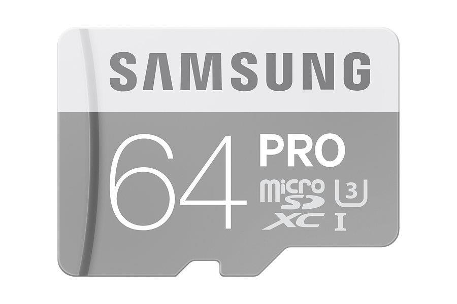 Samsung micro SDXC karta 64GB PRO (Class 10 UHS-I)
