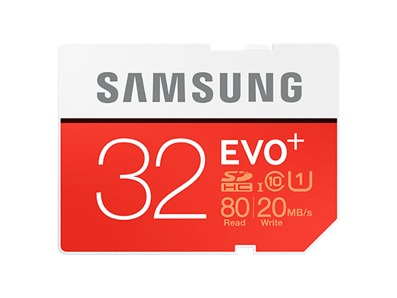 Samsung EVO Plus Micro SDHC karta 32GB Class10
