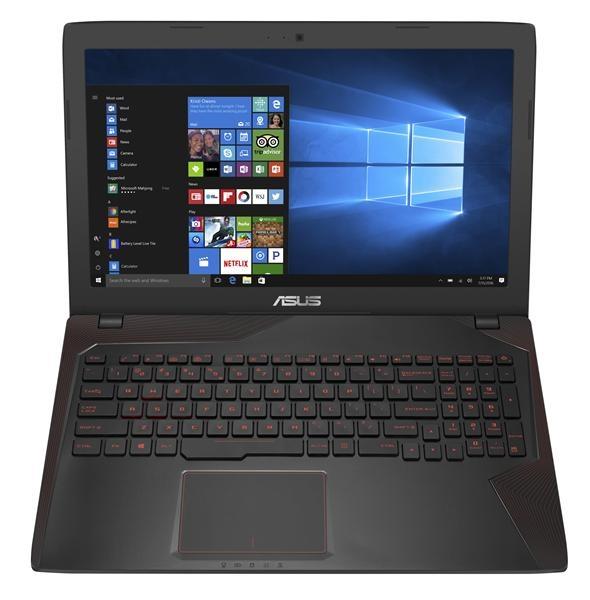 "ASUS GL553VD-FY399T i7-7700HQ/8GB/256G SSD SATA/DVD-RW/GTX1050 4GB/15,6"" 1920x1080 IPS matný/W10 Home/Black"