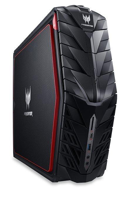 Demo produkt Acer Aspire G1-710_P Predator i7-6700/4x8GB/256GB+3TB/GTX 1080/DVDRW/W10 Home