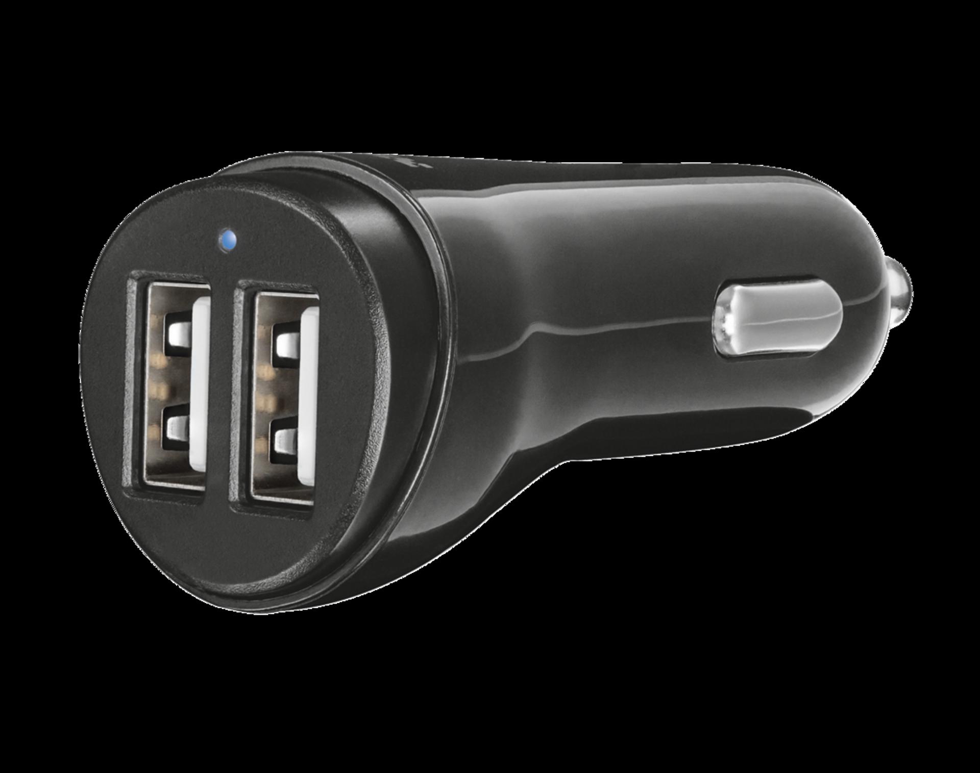 nabíječka TRUST Fast Dual Car Charger USB, 2x12W