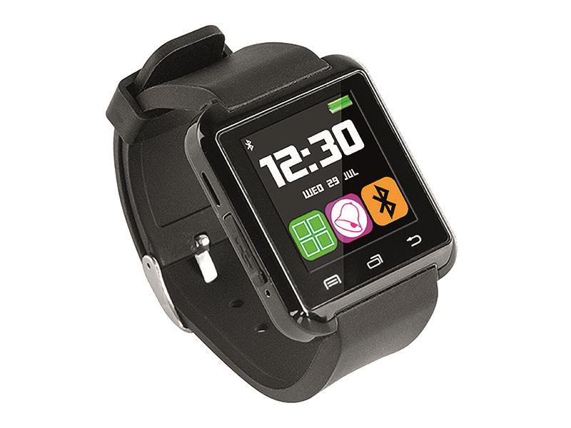 Smartwatch with BT 3.0, commucation and synchronization with smartphones