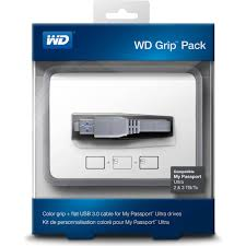 WD My Passport 2TB Grip Picasso Smoke