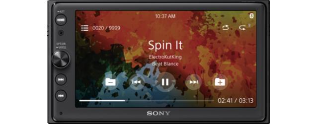 "SONY XAV-AX100 16,3cm (6,6"") DVD přehrávač s displejem LCD"