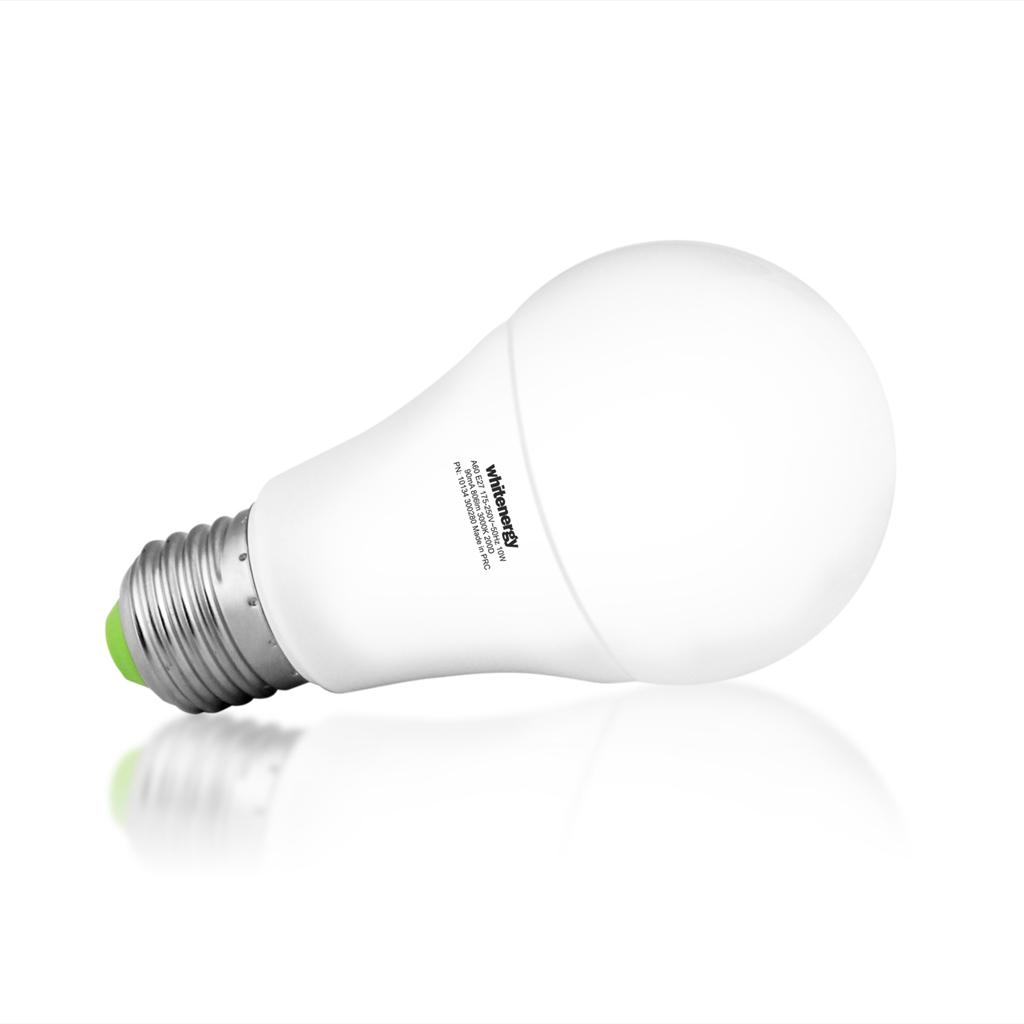 Whitenergy LED žárovka | E27 | 14 SMD 2835 | 10W | 175-250V | mléko | A60