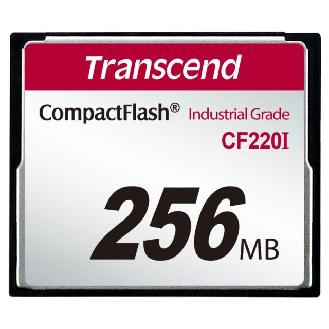 Transcend 256MB INDUSTRIAL TEMP CF220I CF CARD (Fixed disk and UDMA5)