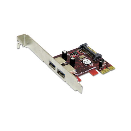 Addonics 2-port USB 3.0 PCIe-1X controller