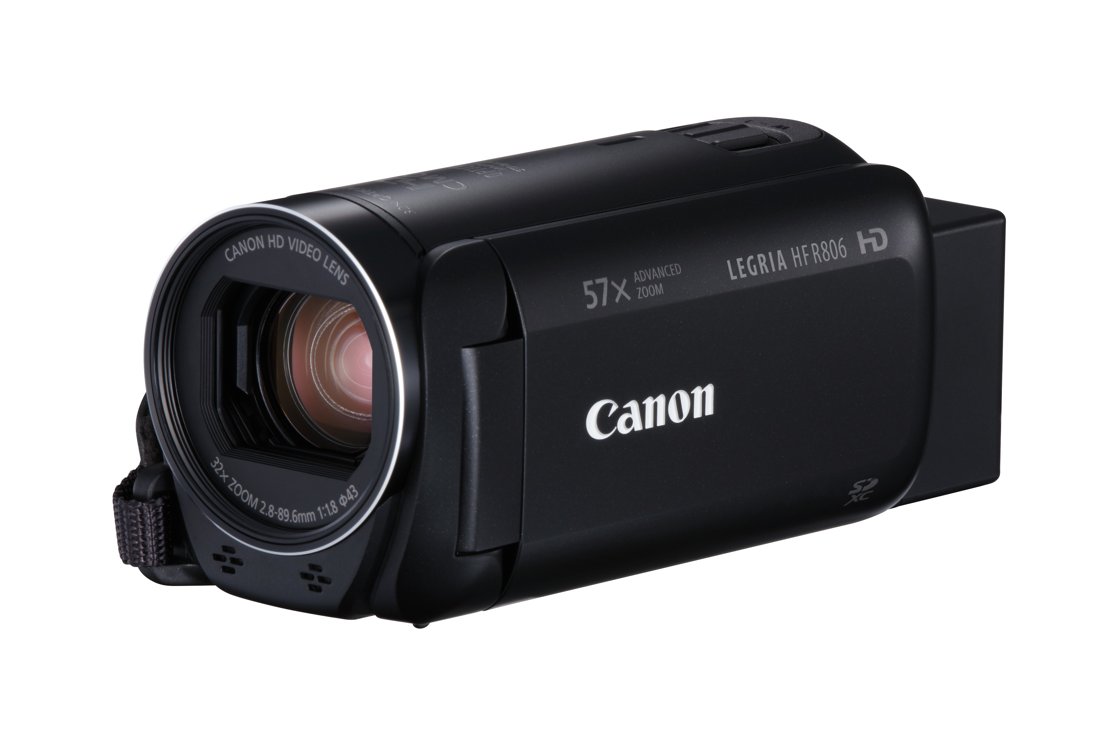 Canon LEGRIA HF R806 Black , Full HD , 32x zoom