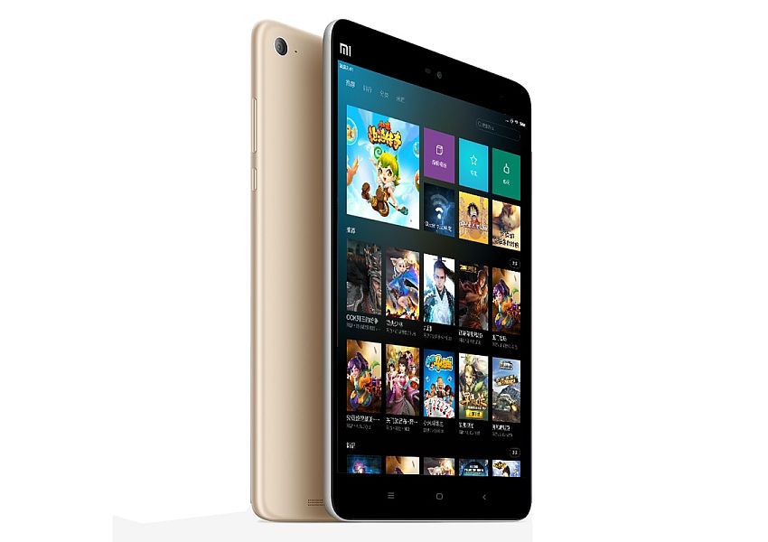 BAZAR_Xiaomi MiPad 2 Gold / 7,9´´ IPS 2048x1536/2,2GHz QC/2GB/16GB/WLAN/BT/6010mAh/Miui7