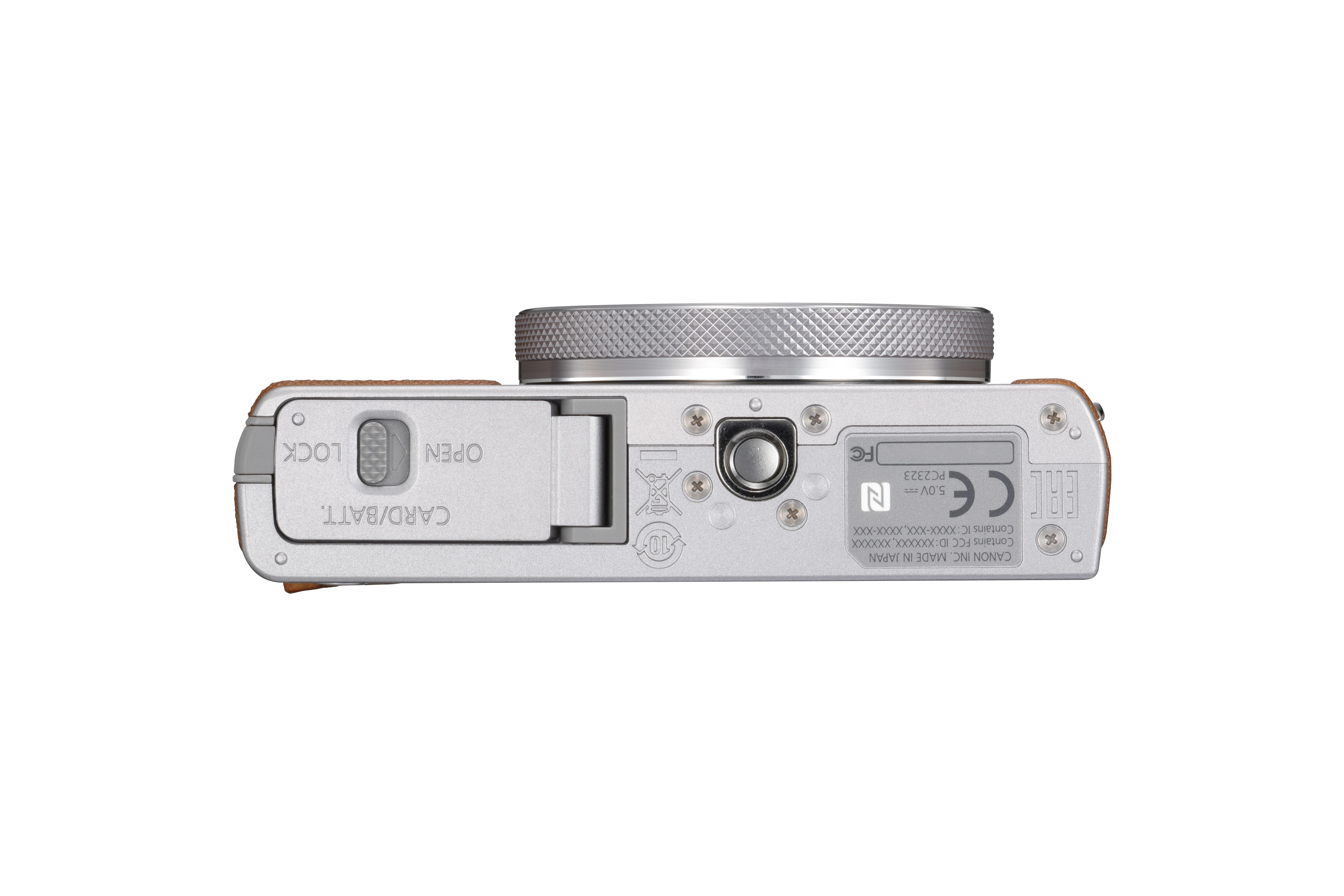 Canon PowerShot G9 X Mark II Silver - 20MP, 3x zoom, 28-84mm